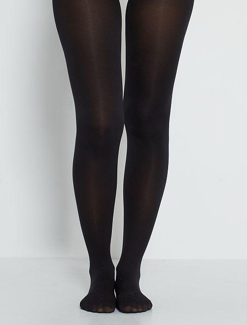 Collants 'Sanpellegrino' 80D                             noir
