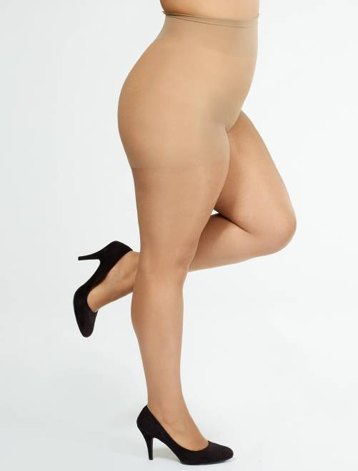 Collants 'Sanpellegrino' Comodo Curvy + sizes 20D                                         antilope