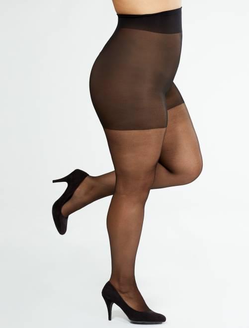 Collants 'Sanpellegrino' Comodo Curvy + sizes 20D                                         noir Grande taille femme