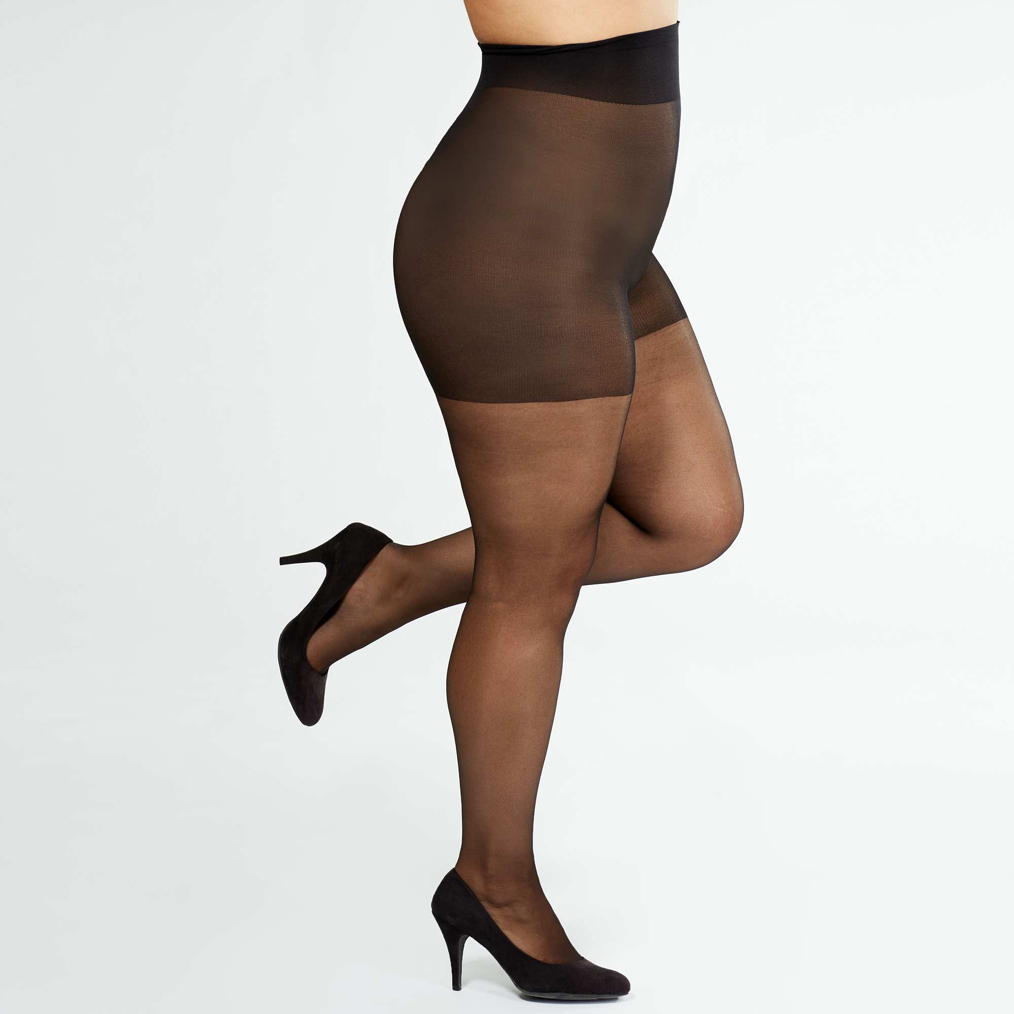Collants  Sanpellegrino  Comodo Curvy + sizes 20D Grande taille ... b8f590e464e
