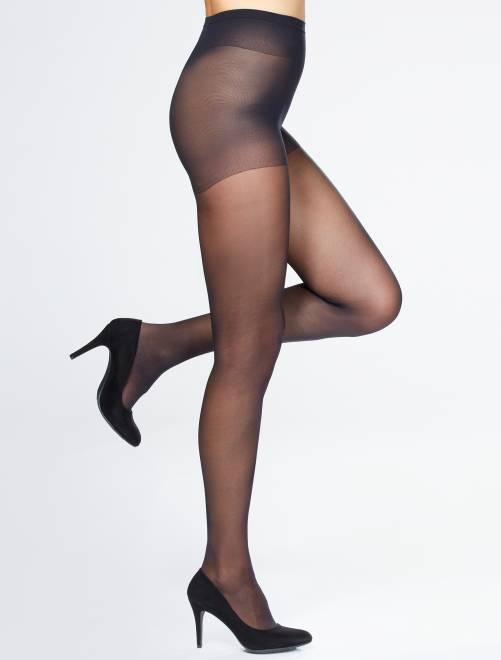 Collants 'Sanpellegrino' Support 40D                                         noir Lingerie du s au xxl