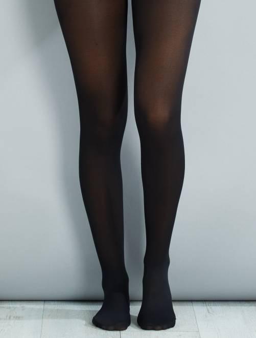 Collants semi-opaques 40D                             noir