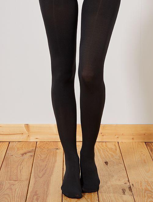 Collants ultra opaques 'DIM' 70D                             noir Lingerie du s au xxl