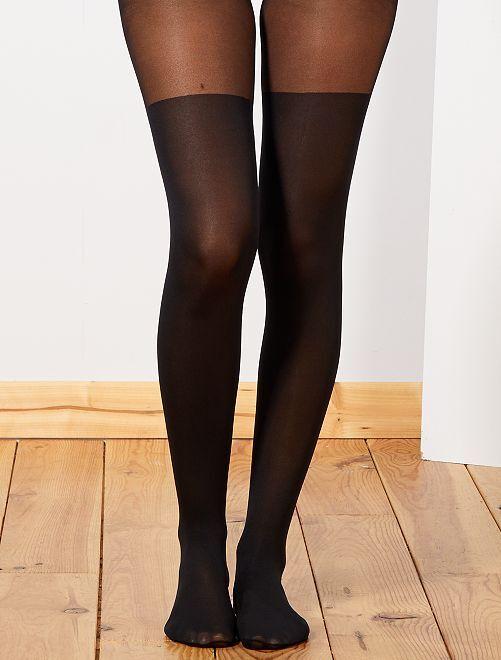 Collants voile 50D                             noir