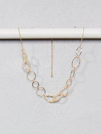 Collier avec anneaux