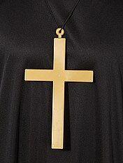 Collier avec pendentif croix de moine