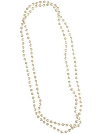 Collier de perles long - Kiabi