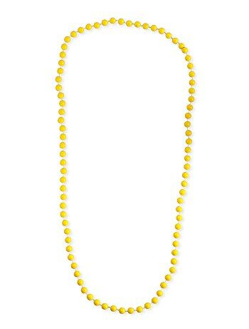 Collier long perles