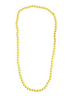 Collier long perles - Kiabi