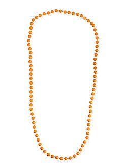 Collier long perles - Kiabi