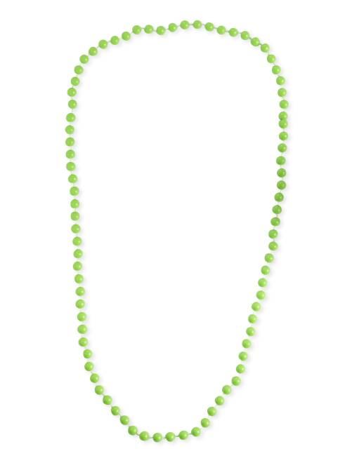 Collier long perles                                                                  vert