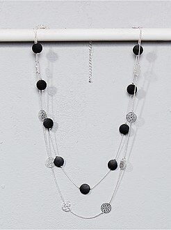 Bijoux - Collier sautoir multirangs - Kiabi