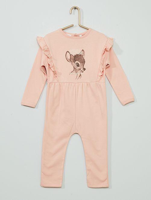 Combinaison 'Bambi' éco-conçue                             rose