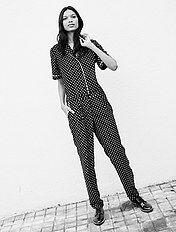Combinaison fluide esprit pyjama
