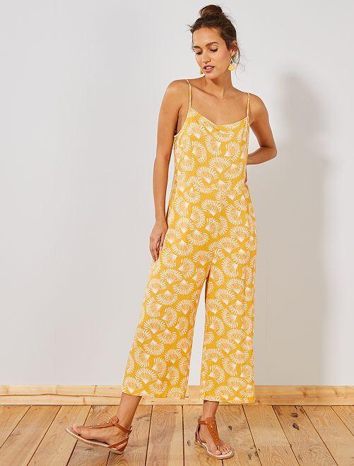 Combinaison fluide large                                         jaune