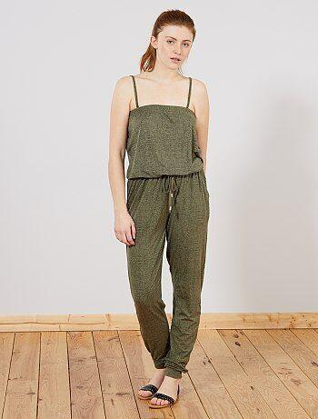 Salopettes En Vêtements Femme Ligne Pour amp; Combinaisons q78Itg7
