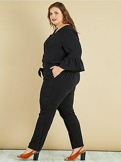 Pantalon droit - Combinaison pantalon à manches cloches