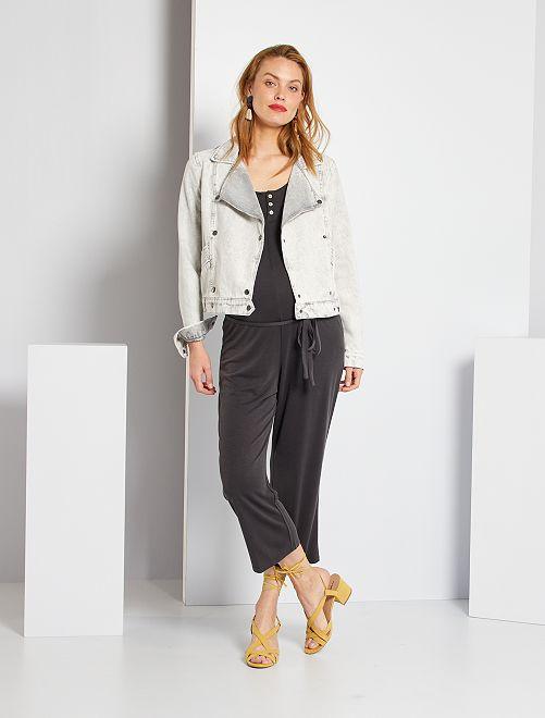 Combinaison pantalon de maternité                             gris foncé