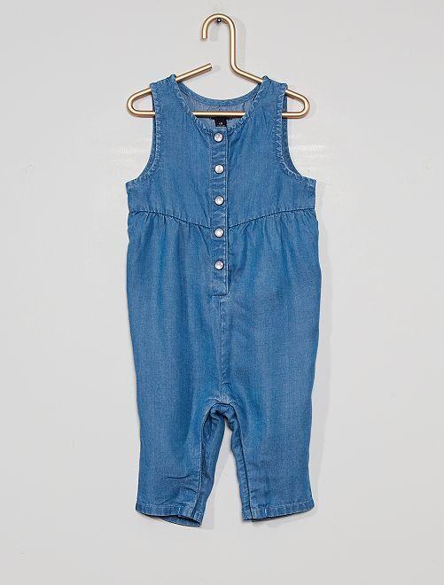 Combinaison pantalon éco-conçue                             bleu jeans