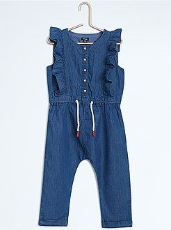 Denim - Combinaison pantalon en denim