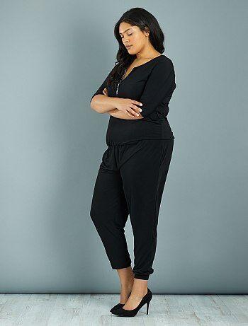 combinaison femme grande taille femme kiabi. Black Bedroom Furniture Sets. Home Design Ideas
