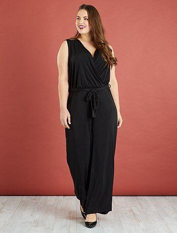 Grande taille femme - Combinaison pantalon fluide - Kiabi