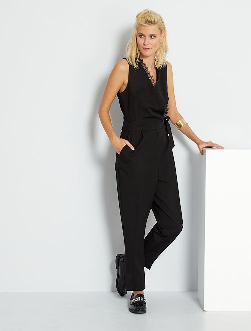 Combinaison pantalon habillée                             noir