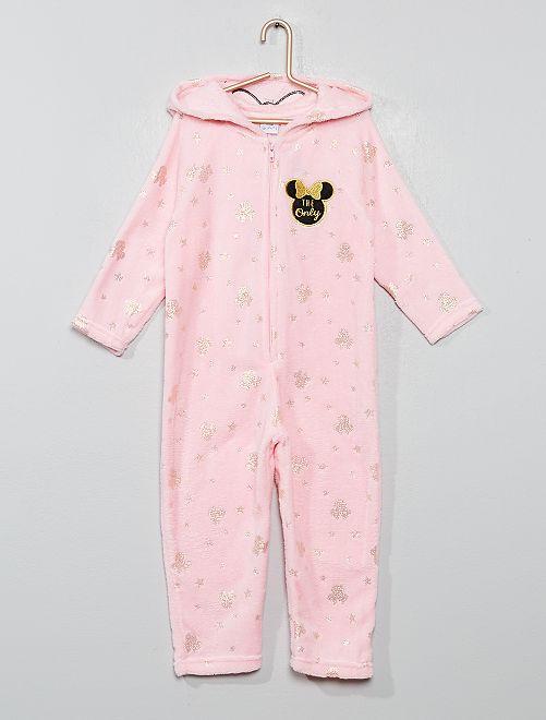 Combinaison pyjama 'Minnie'                                         rose