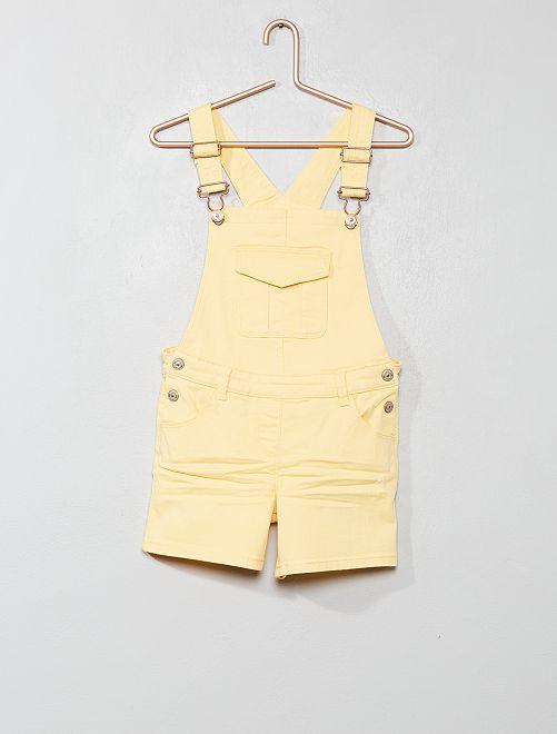 Combishort                     jaune