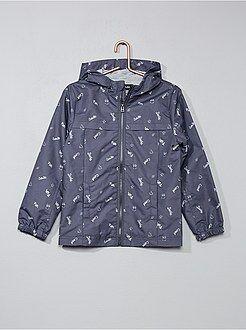 Manteau, veste - Coupe-vent léger à capuche - Kiabi