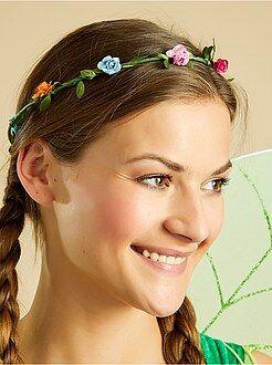 Femme - Couronne de fleurs - Kiabi