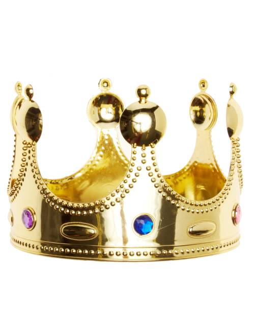 Couronne de roi                              doré Accessoires