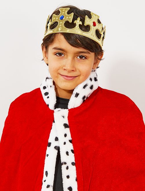 Couronne de roi                             doré Enfant