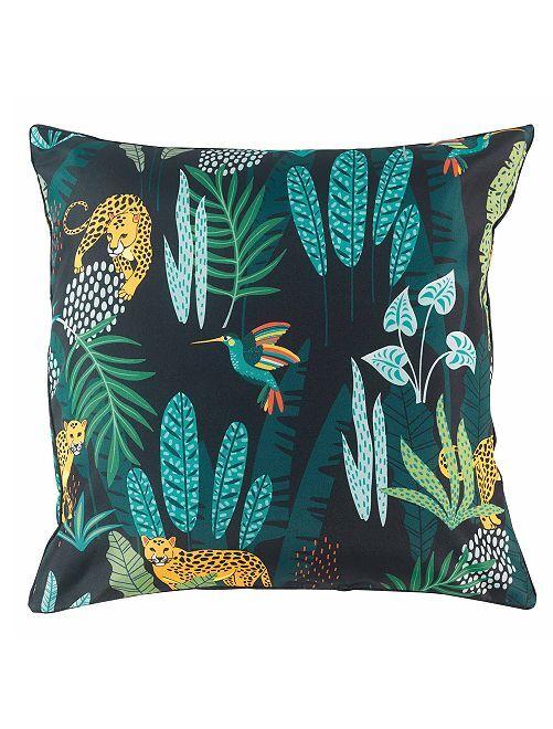 Coussin décoratif 'jungle'                             vert