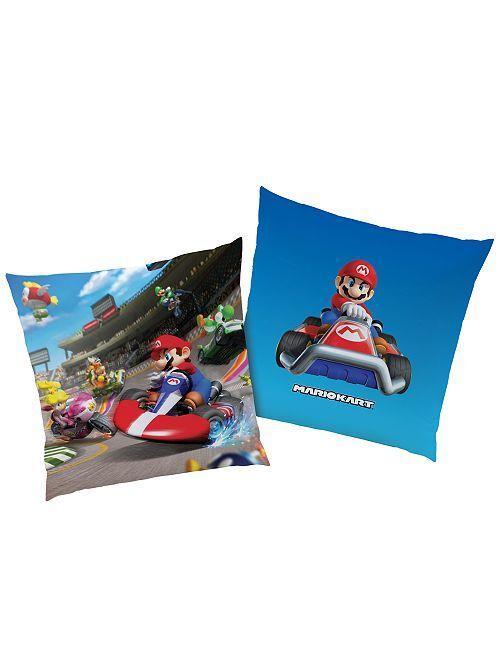 Coussin 'Mario Kart'                             bleu