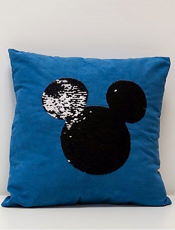 Coussin `Mickey` sequins réversibles