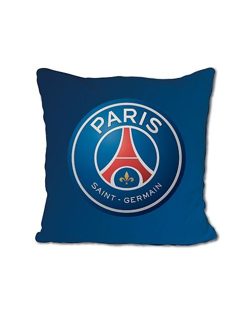Coussin 'PSG' 35 x 35 cm                             bleu