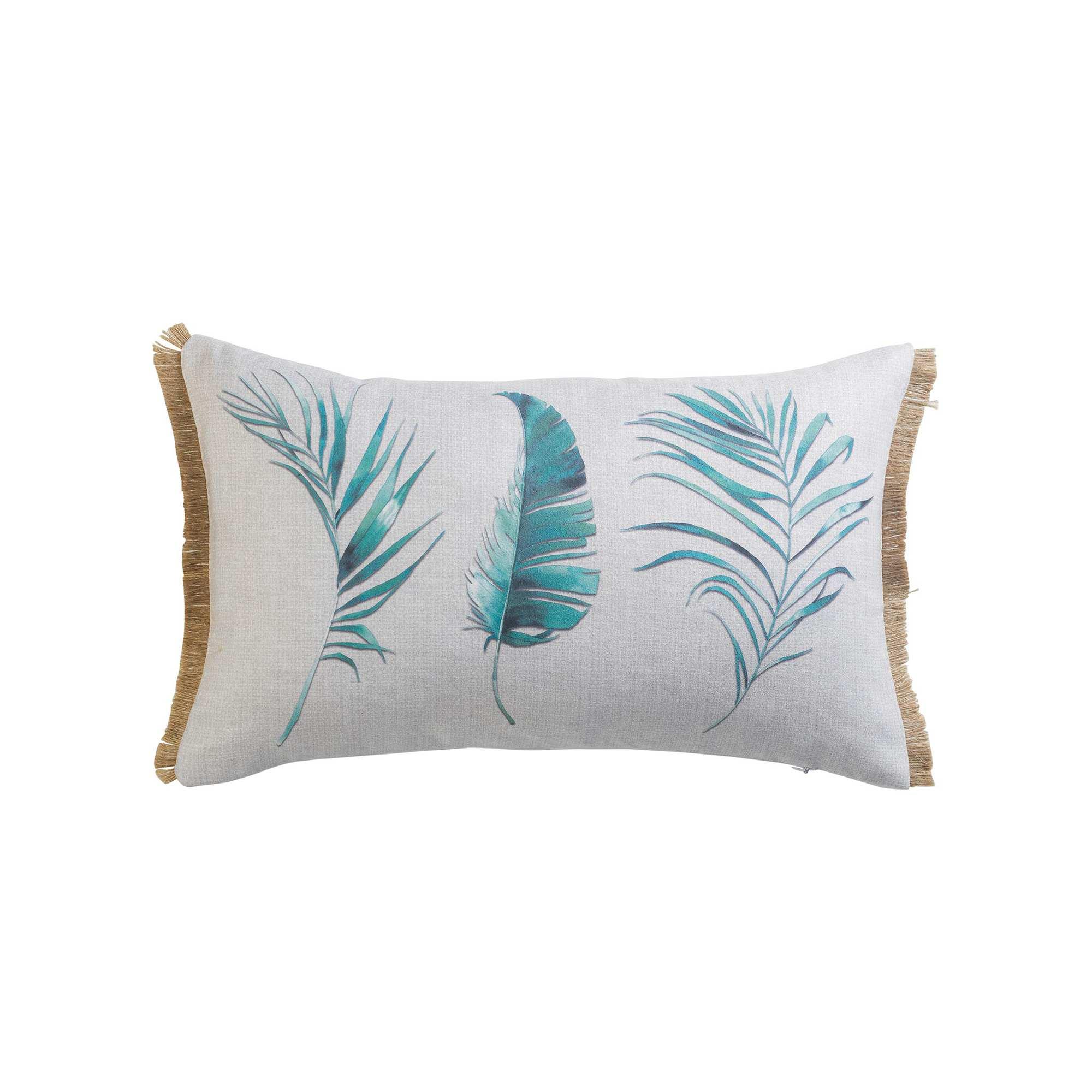coussin rectangulaire 39 plume 39 linge de lit blanc kiabi. Black Bedroom Furniture Sets. Home Design Ideas