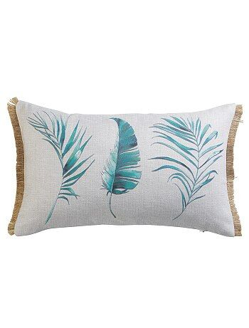 Coussin rectangulaire 'plume'