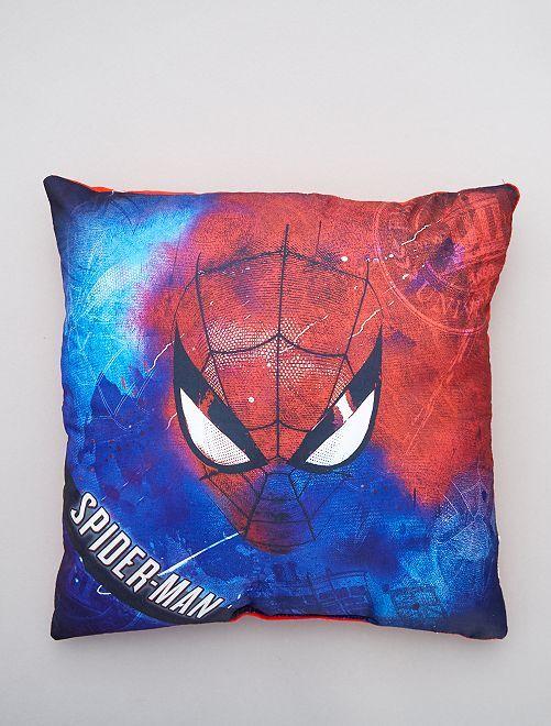Coussin 'Spider-Man' avec poche                             bleu