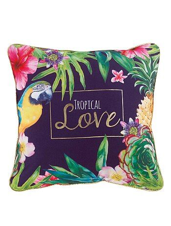 Coussin 'tropical'