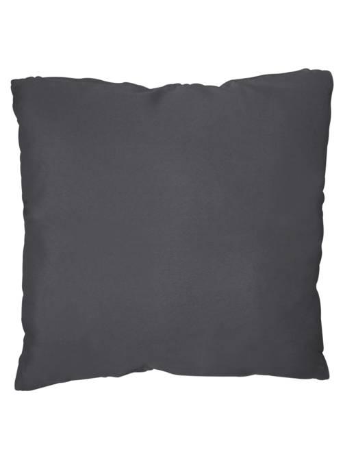 Coussin uni déhoussable                                                                                                     gris Linge de lit