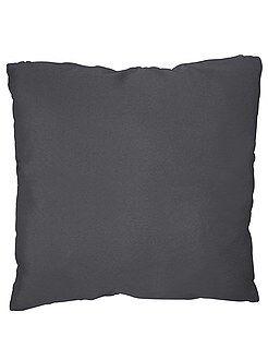 Déco textile - Coussin uni déhoussable - Kiabi