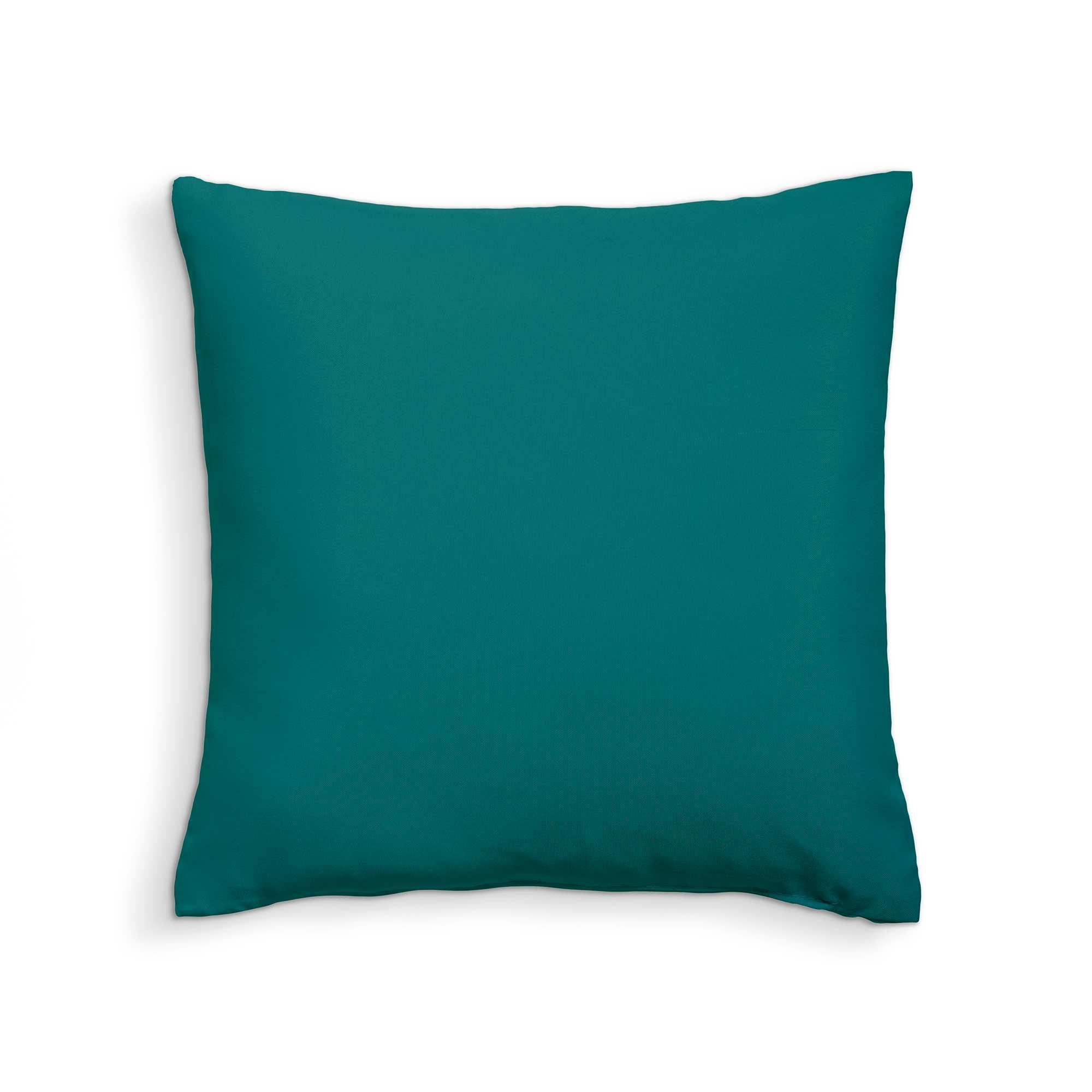 coussin uni d houssable linge de lit vert meraude. Black Bedroom Furniture Sets. Home Design Ideas