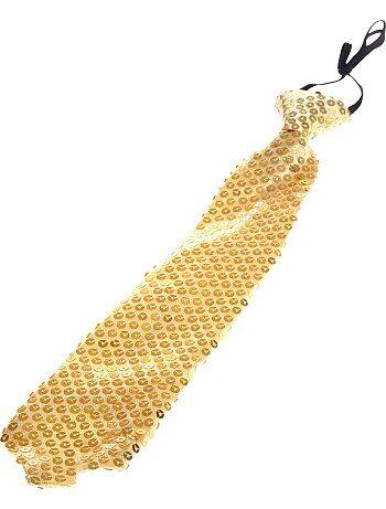 Cravate à sequins - Kiabi