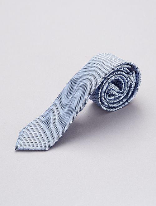 Cravate bleu ciel                             bleu