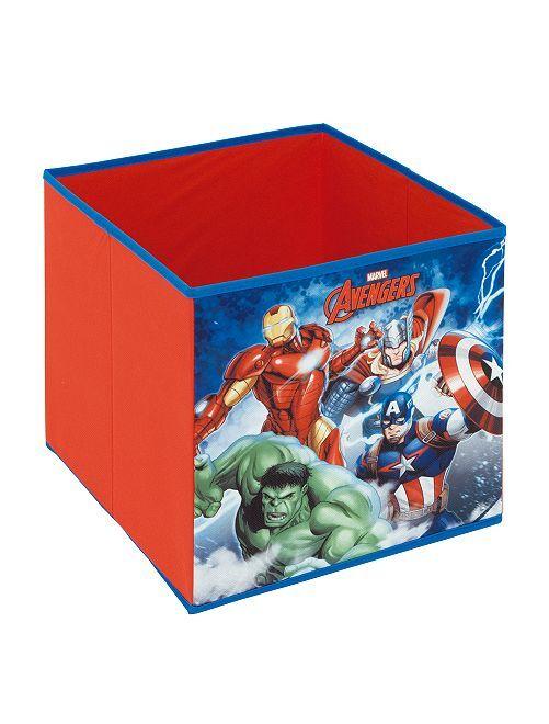 Cube de rangement 'Avengers'                             rouge