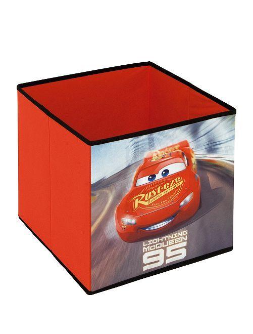 Cube de rangement 'Cars' 'Disney'                             rouge Linge de lit