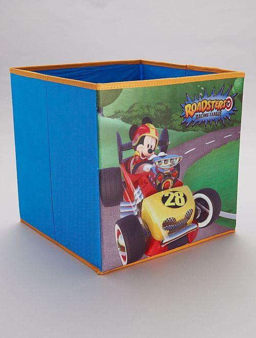 Cube de rangement 'Mickey'                             bleu