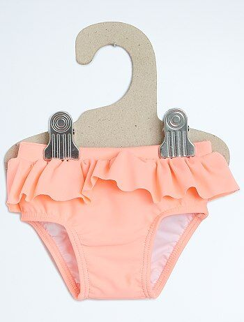 culotte de bain volants b b fille kiabi 4 00. Black Bedroom Furniture Sets. Home Design Ideas